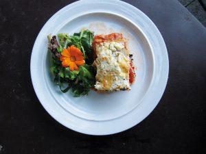 Auberginen-Tomaten-Lasagne