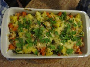 Kartoffel-Möhren-Auflauf
